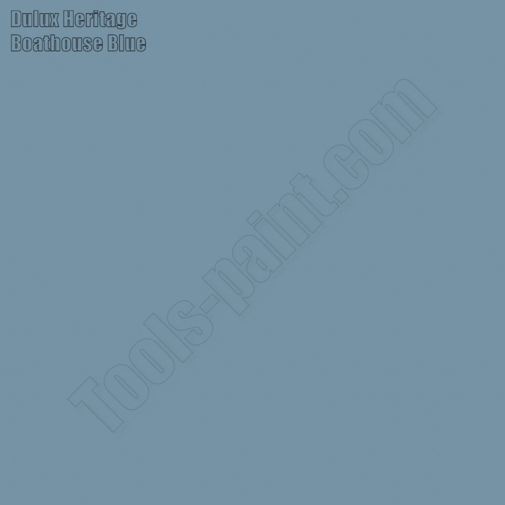Dulux Heritage Boathouse Blue